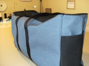 custom made canvas bags with pockets